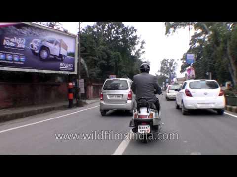 Smooth traffic in Dehradun