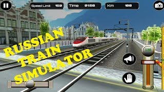 Russian Train Simulator Level 1-5 Android Game
