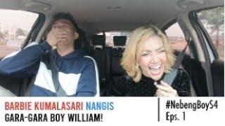 Barbie Kumalasari Nangis Gara-Gara  Boy William! | #NebengBoy S4 Eps.1