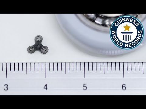 Smallest Fidget Spinner - Guinness World Records