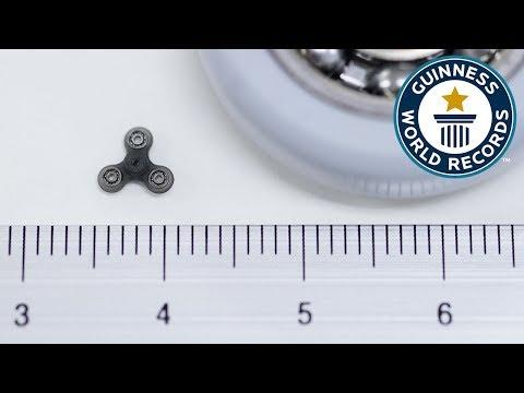 Smallest Fidget Spinner – Guinness World Records