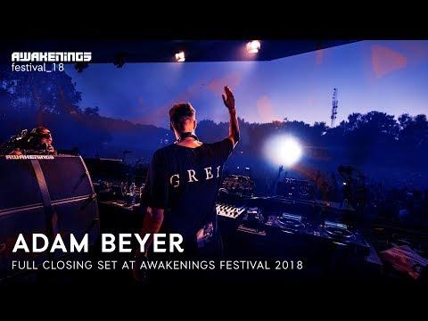 Adam Beyer Closing Set Awakenings Festival 2018 Youtube