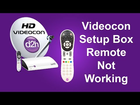 Videocon Remote Not Working