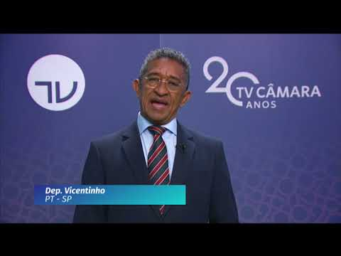 20 Anos TV Câmara: deputado Vicentinho (PT-SP)