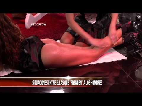 Fran encrema a la sexy Flavia Fucenecco en Tock Show thumbnail