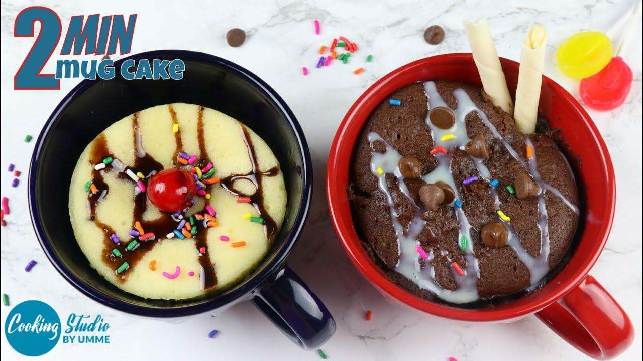 Microwave Cake Recipes In Bangla: মাত্র ২ মিনিটে ডিম ছাড়া ২ ধরনের মগ কেক
