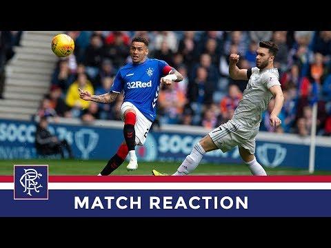 REACTION   James Tavernier   Rangers 2-0 Aberdeen