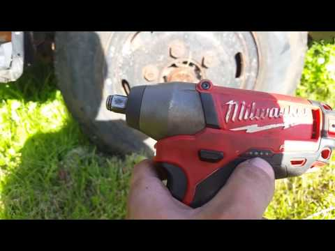 MILWAUKEE M12 and M18 Impact wrenches vs car and truck wheel nuts