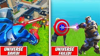 Top 5 BEST FORTNITE AVENGERS Ranked WORST TO BEST!