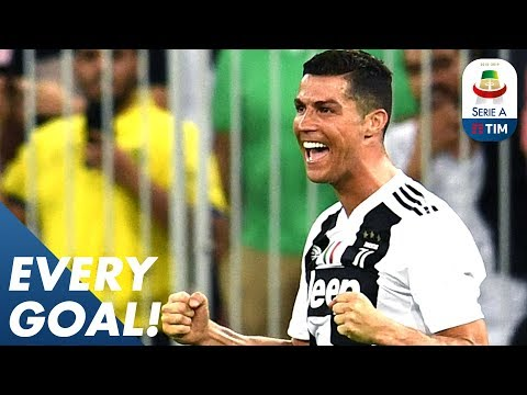 Ronaldo is Top Scorer with 17! Fernandes Scores a Sweet Strike vs Udinese | EVERY Goal R22 | Serie A