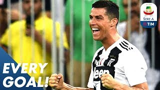 Ronaldo is Top Scorer with 17! Fernandes Scores a Sweet Strike vs Udinese   EVERY Goal R22   Serie A