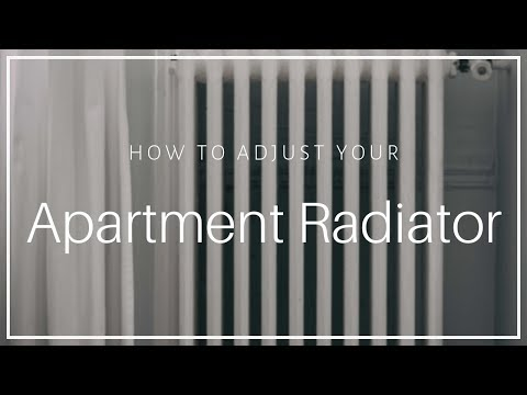 Apartment Radiator Heater How To Turn On And Off Youtube