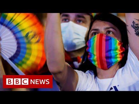 World marks 50 years of Pride - despite Covid-19 - BBC News