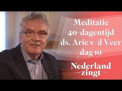 Meditaties lijdenstijd ds. Arie van der Veer (10) - Er is een Verlosser
