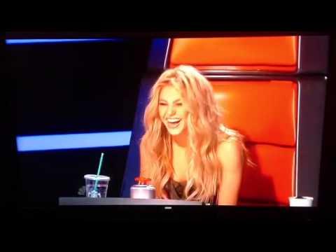 Adam Levine imitates Shakira
