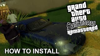 How to install GTA San Andreas Remastered (PC) - HD Textures and Realistic Graphics