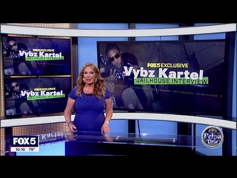 EXCLUSIVE interview with VYBZ KARTEL from Prison, FOX 5 NEWS got it first