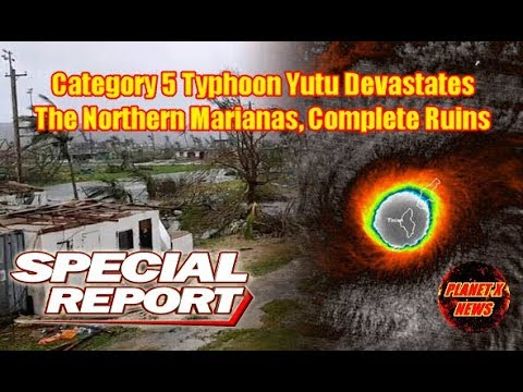 Extreme Category 5 Typhoon, Devastated the Northern Mariana Islands