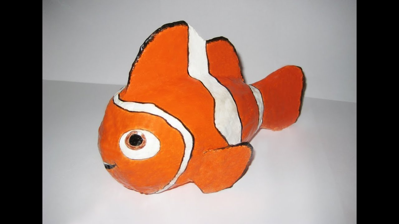 Рыба из папье маше своими руками