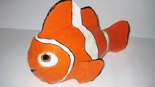 DIY Рыбка Немо своими руками. Мастер-класс \ How to make Nemo fish
