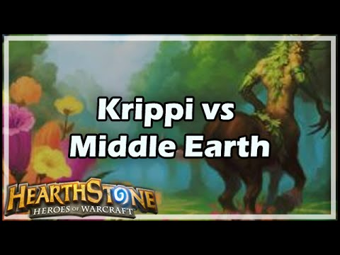 [Hearthstone] Krippi vs Middle Earth