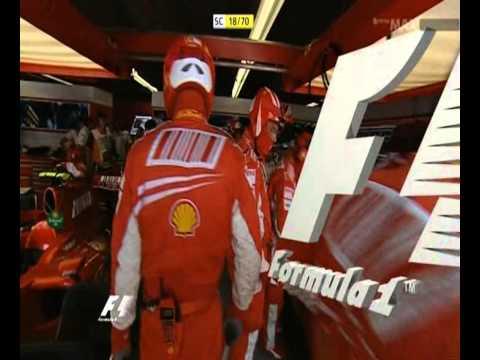 Montreal 2007 F1 GP Massa Fisichella