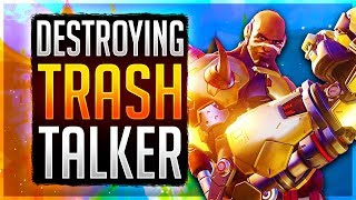 0 DEATH DOOMFIST GAME! Educational Doomfist Commentary Overwatch Unranked to GM