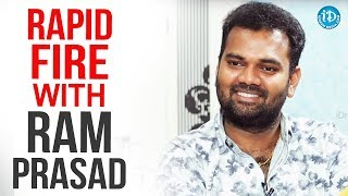 Rapid Fire With Ram Prasad || Anchor Komali Tho...