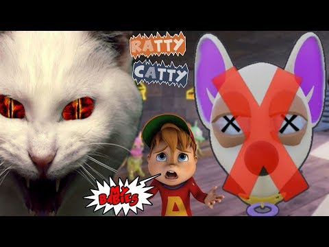 THESE EVIL CATS WON'T LET ME FEED MY BABIES  || Ratty Catty w/ Fruit Snacks