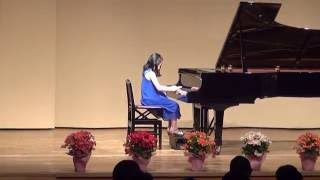 "Ten-year-old girl plays ""Take Five"" on piano."