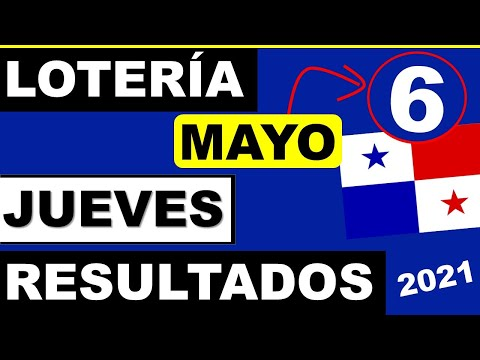 Resultados Sorteo Loteria Jueves 6 de Mayo 2021 Loteria Nacional de Panama Miercolito Que Jugo