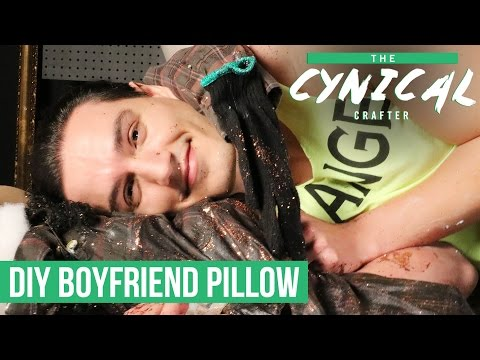 DIY a Boyfriend Pillow for Lonely Nights   The Cynical Crafter   CBC Life