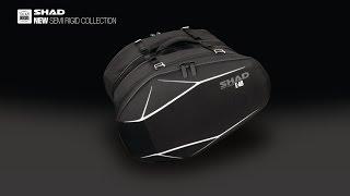 New SHAD Semi Rigid Saddle Bag E-48