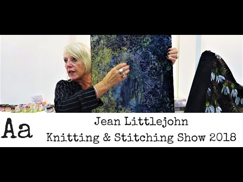 ** Learn How To ** Create Embroidery Designs With Jean Littlejohn