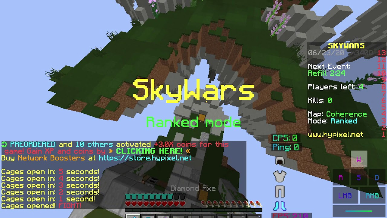i won some skywars..