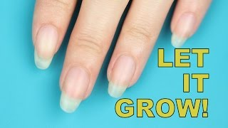 MY LONGEST NAILS EVER + CRAZY SIMPLE NAIL GROWING TIPS
