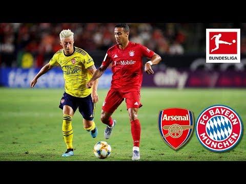 Arsenal FC – FC Bayern München | 2-1 | Highlights – ICC 2019