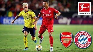 Arsenal FC - FC Bayern München | 2-1 | Highlights - ICC 2019