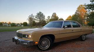 1976 Chevrolet Caprice Classic ١٩٧٦ شيفروليه كابريس كلاسيك