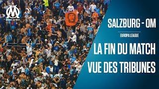 Salzburg - OM   La fin du match depuis la fan zone