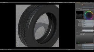 Luxology modo - het Modelleren van een basic Auto Band