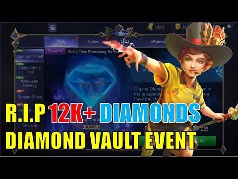 [Mobile Legends Bang Bang] Diamond Vault Event | SKIN GIVEAWAY thumbnail