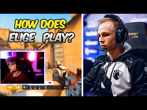 PRO PLAYERS REACTION TO ELIGE PLAYS! BEST OF ELIGE! CS:GO Twitch Moments