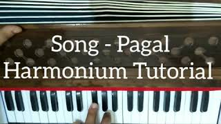 How To Play Song Pagal By Diljit Dosanjh On Harmonium // Gaurav Anmol Music // Tutorial // 2018
