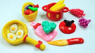 How to Make Miniature Kitchen / Cooking  Stuff  - Easy Doll Crafts