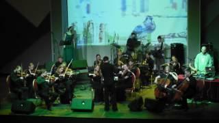 Другой Оркестр plays Bristol Sound, Portishead - Roads, ЦК Урал, Екатеринбург, 2016.10.29