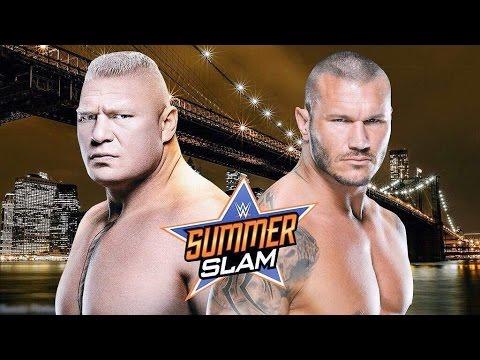 WWE Summerslam 2016 - Randy Orton vs Brock Lesnar - Promo