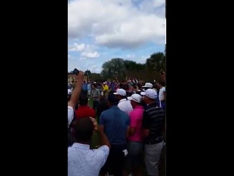 Rickie Fowler Hole Out - Els For Autism @ Old Palm Golf Club