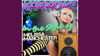 Don't Cry Out Loud (In the Style of Melissa Manchester) (Karaoke Version)