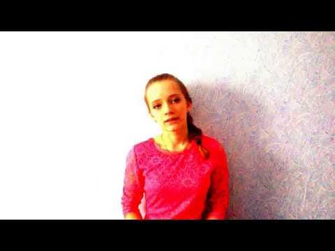 Изображение предпросмотра прочтения – АнастасияФедосеева читает отрывок изпроизведения «На поле Куликовом» А.А.Блока